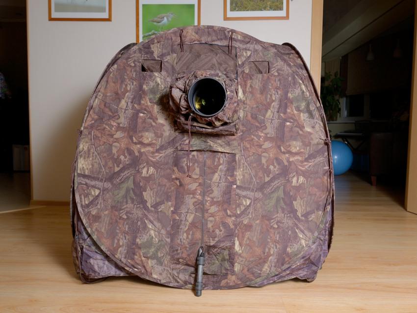 Засидка Tragopan Hide V4 - вид снаружи
