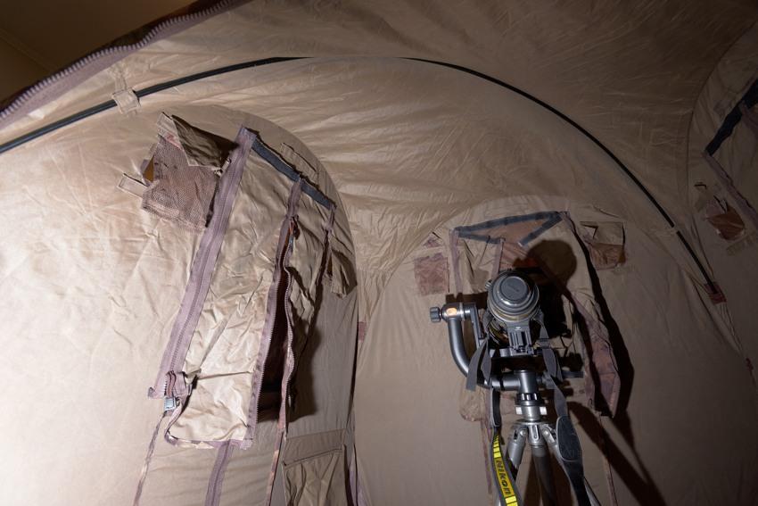 Засидка Tragopan Hide V4 - дуга под крышей