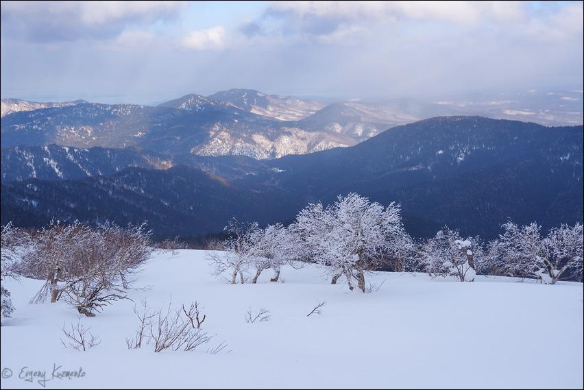 Вид с горы Лысой на восток