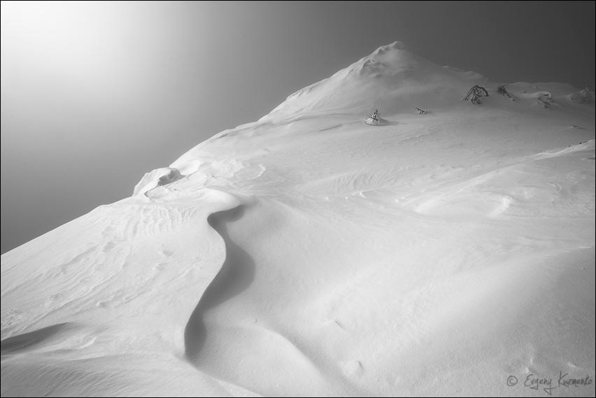 Туман на горе Пушкинской