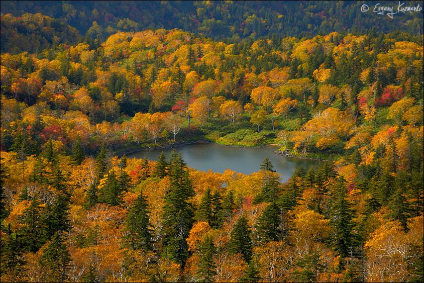 Одно из горных озер под Шпамбергом