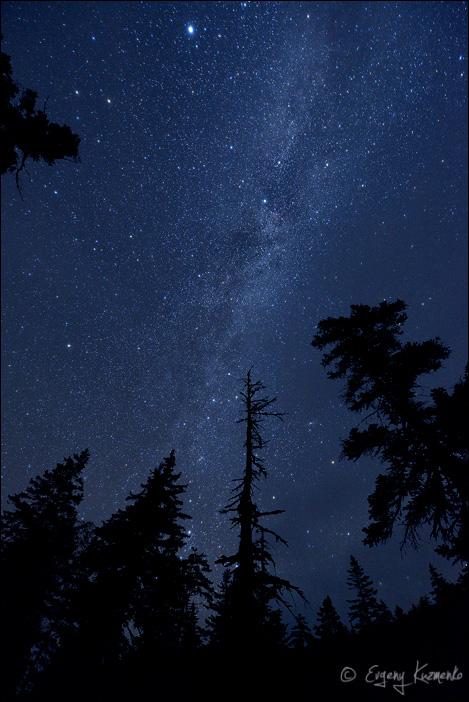 Звездная октябрьская ночь