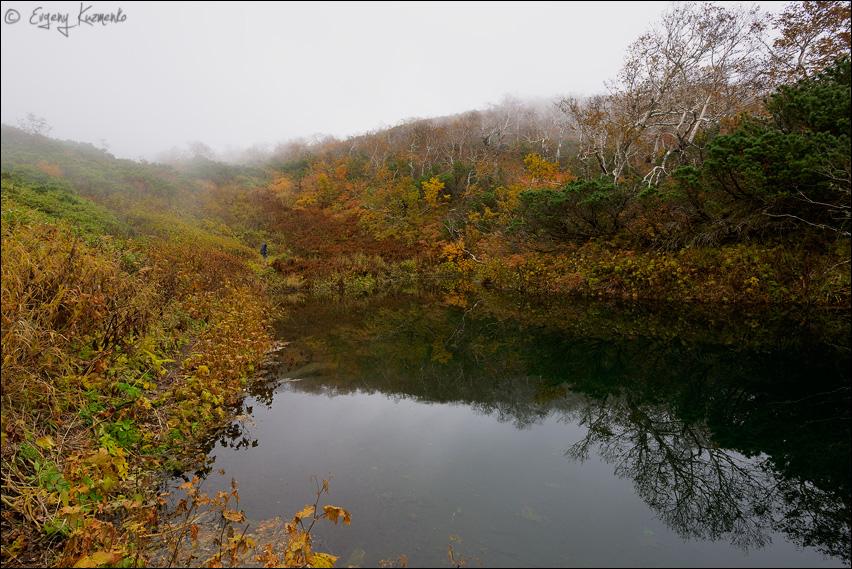 Горное озеро у горы Шпамберг
