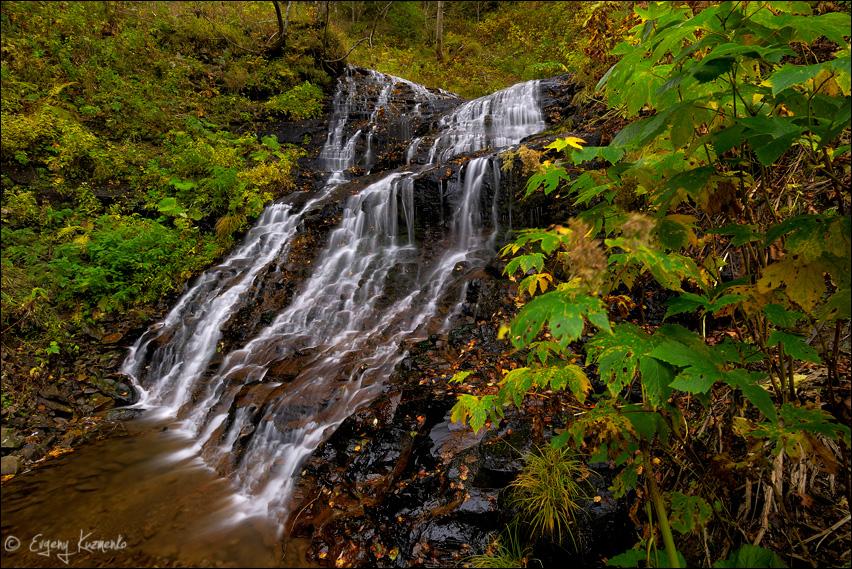 Водопад на притоке Чеховки