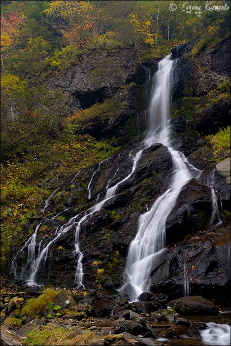 Один из рукавов Шуйского водопада