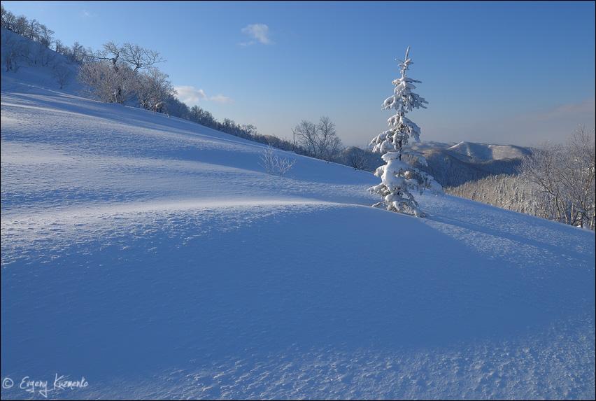 Зима на Мицульском хребте
