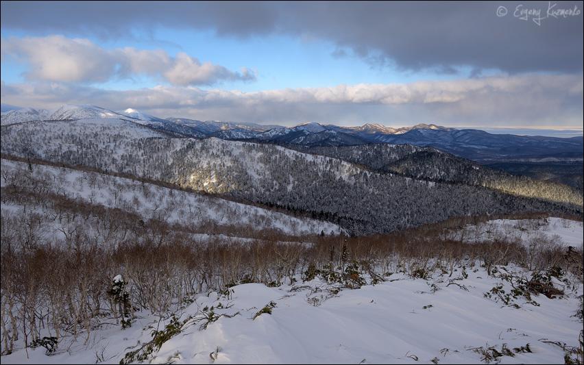 Вид с горы Красной на север