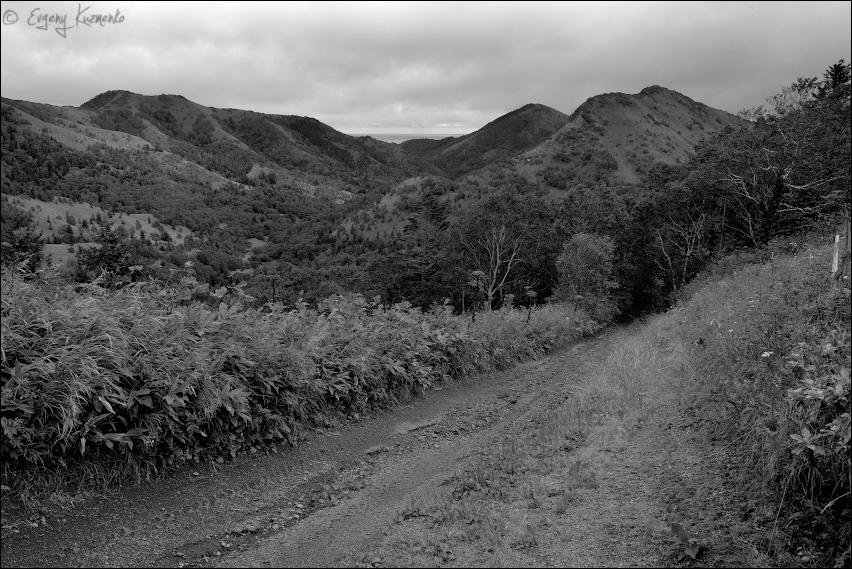 Перевал у горы Советской - вид на восток